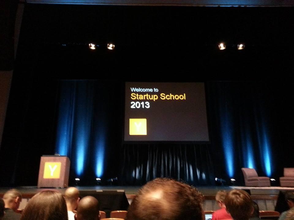 YCombinator Startup School 2013